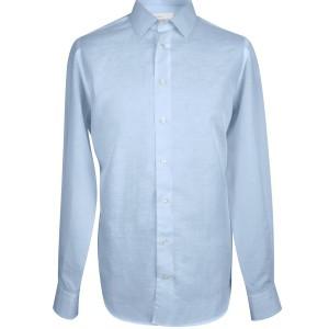 košile lněná světle modrá-1-male