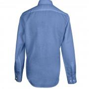 košile lněná tmavě modrá-2