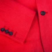 sako lněné červené-4-male